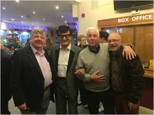 Clive Gowers, Buddy Holly, Trevor Norris and John Crocker