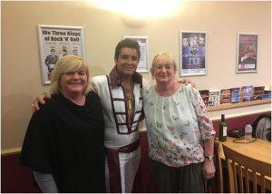 Jordana Hatherley, Elvis Presley and Pam Norris