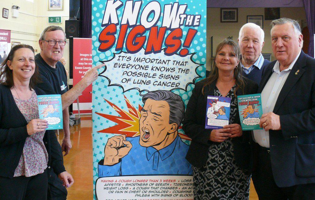 Karen Tedder-Ward (CVST), Keith Parham (Rotary), Rhona Gilder (ECC Public Health), Trevor Norris, Ray Hansen (both Rotary)